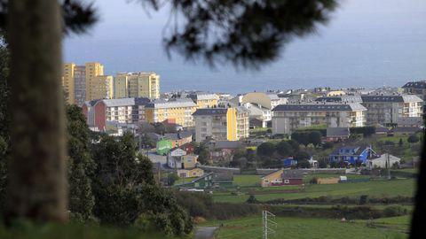 Foz, en la imagen de archivo, es el municipio de la provincia con más pisos de uso turístico