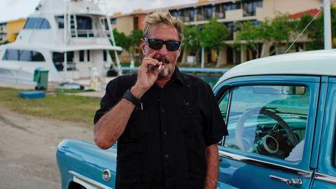 John McAfee, en una foto de archivo en Cuba
