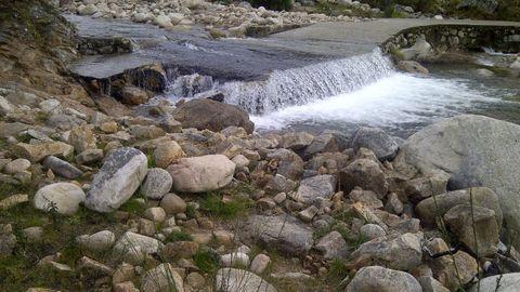 Río entre San Paio y Esperanzo en imagen de archivo