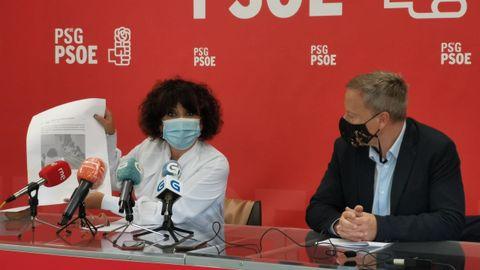 Concepción García Lozano y Rafael Rodríguez Villarino (PSOE)
