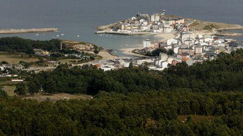 Vita del puerto de San Cibrao, en Cervo, el municipio de mayor renta media de la provincia de Lugo