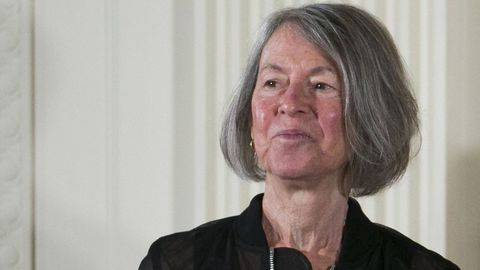 A Poeta Louise Gluck, gañadora do Nobel de Literatura