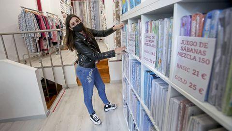 Laura Pombo iba a inaugurar su tienda dos días antes de declararse el estado de alarma