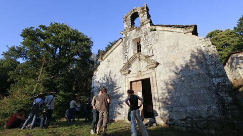 La iglesia y el cementerio de Soutomerille, en disputa