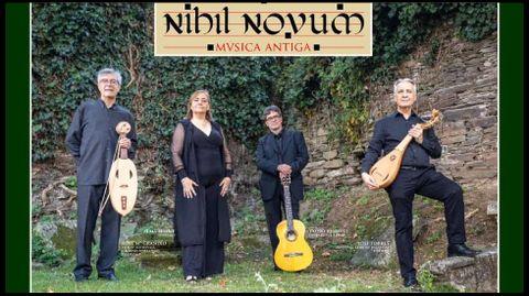El grupo Nihil Novum ofrece un concierto en la iglesia de Baamonde