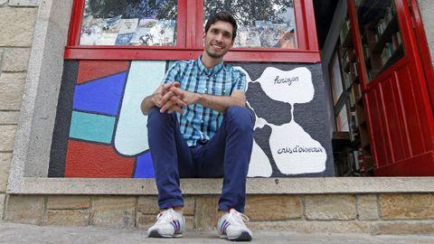 Iago Lestegás, urbanista de Lugo que en el 2017 recibió el premio al mejor joven investigador que concedieron los geógrafos urbanos internacionales