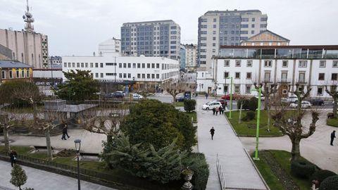 Lestegás propone una reflexión sobre la futura plaza en el solar de la estación de buses de Lugo
