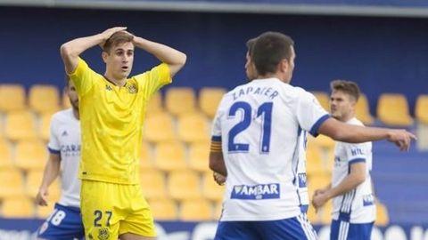 El Alcorcon jugo contra el Zaragoza el pasado 5 de octubre