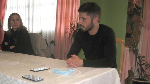 María Xosé Fernández y Modesto Renda, concejales de Vilalba Aberta
