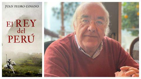 Juan Pedro Cosano es autor de la novela histórica «El rey del Perú», que recupera la figura de Gonzalo Pizarro