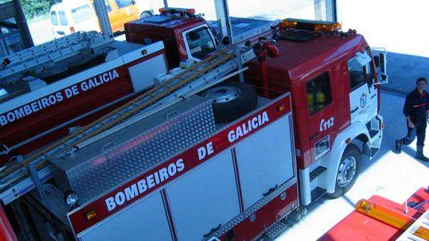 Imagen de archivo del parque de bomberos de Arteixo