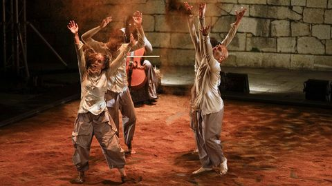 Nova Galega de Danza actúa en Vilalba