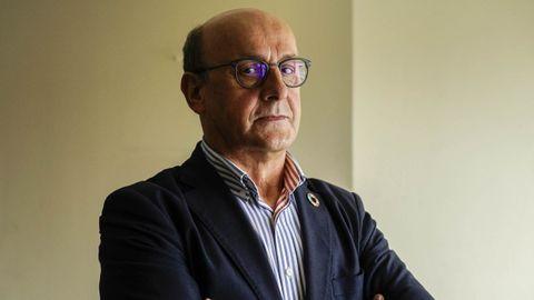 Adolfo Pérez Abellás, diputado y presidente de la gestora del PSOE ourensano