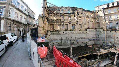 Pazo del Marqués de Valladares. El edificio noble, en una zona turística, se recupera para un proyecto sociocultural y de ocio