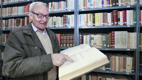 Manuel Rodríguez Sánchez, bibliotecario del Seminario que ha fallecido