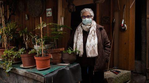 Ángeles Puga, vecina de Figueiredo (Paderne de Allariz) que tuvo coronavirus