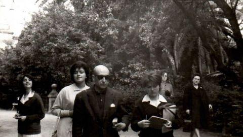 O autor de «Scórpio» nunha viaxe cultural no 63