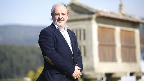 Miguel Ángel Vázquez es el presidente de la Sociedade Galega de Xeriatría e Xerontoloxía