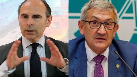 Ignacio Villaverde y Santiago García Granda
