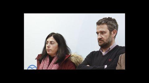 Elena Candia y Jaime de Olano, en una foto de archivo