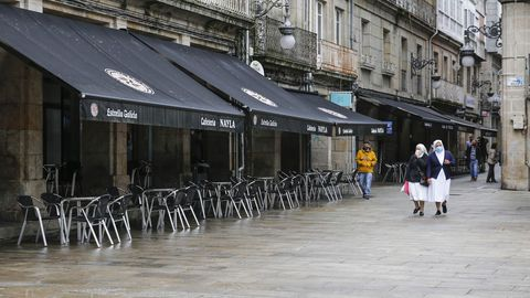 Feijoo ha puesto como ejemplo el caso de O Carballiño para anunciar las nuevas restricciones en Galicia