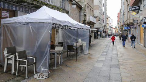 El 21 de octubre fue el último día que estuvo abierta la hostelería en O Carballiño