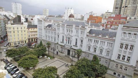 Sede del Tribunal Superior de Xustiza de Galicia (TSXG), en A Coruña