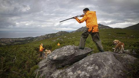 Jornada de caza en Barbanza