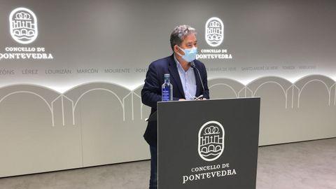 Miguel Anxo Fernández Lores, alcalde de Pontevedra (BNG)