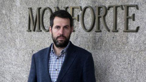 Iván Sanz llevaba tres años y medio como gerente del hospital de Monforte