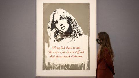 «Oh my god 2006», una obra de Banksy valorada en más de un millón de euros