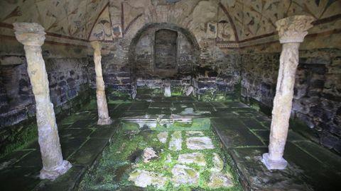 Santa Eulalia de Bóveda, un monumento singular en la península