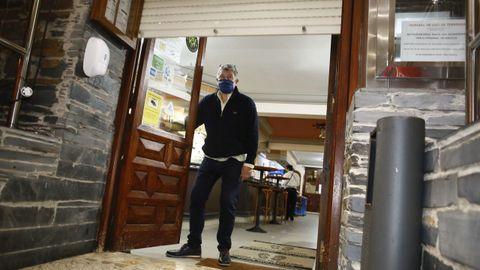 El restaurante Louzao, en Viveiro, cerrando sus puertas
