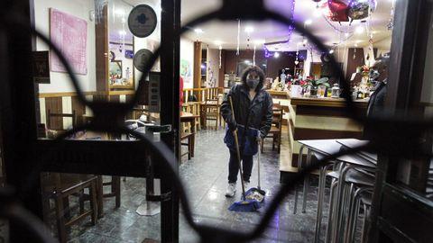 La hostelería de Vilagarcía baja la persiana