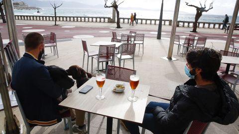 En Sanxenxo, concello al que corresponde esta foto, la hostelería no tiene que cerrar.