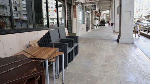 Locales cerrados en Vigo