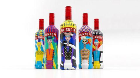 Con Smirnoff llevaron el concepto de diversidad a las botellas
