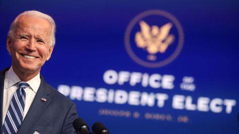 El presidente electo de Estados Unidos, Joe Biden, compareció este martes para defender el Obamacare