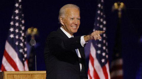 Joe Biden, elegido 46.º presidente de Estados Unidos