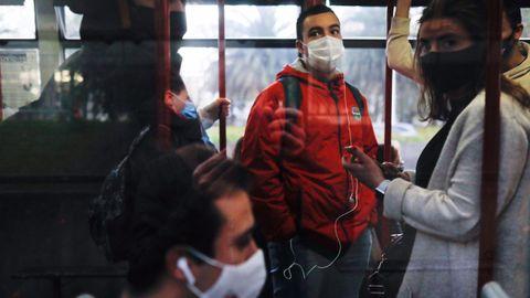 Ocupación en un autobús en A Coruña
