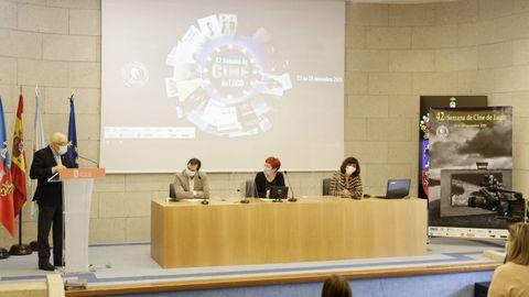 Presentación da Semana de Cine de Lugo