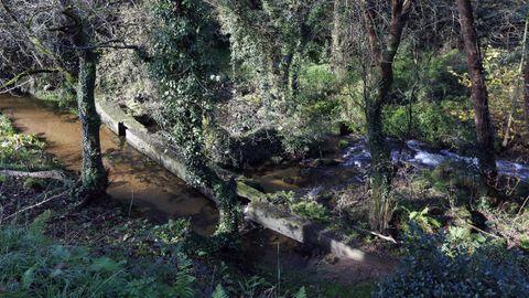 Atranco no río Cañón