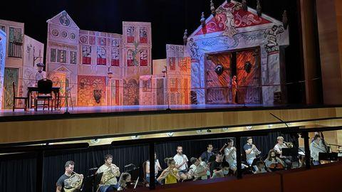 Uno de los ensayos de la Orquesta Gaos en el Festival de Ópera de Fuerteventura