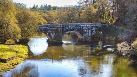 Puente de Brandomil, en Zas