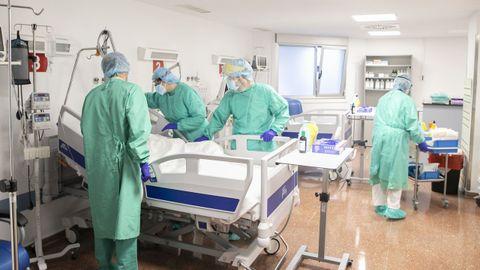 La unidad de cuidados intermedios de Povisa