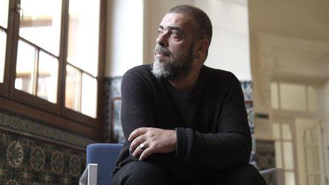 Ramón Lluis Bande, en la sede del FICX