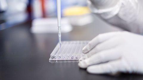 Laboratorio de Moderna durante el desarrollo de la vacuna contra el coronavirus