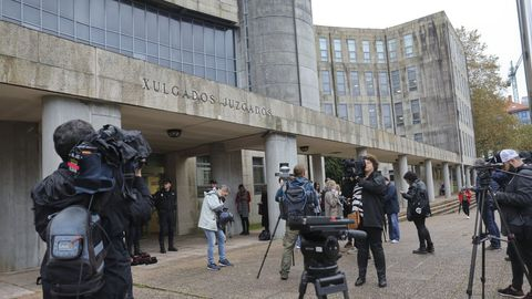 Los juzgados de Santiago, en una imagen de archivo