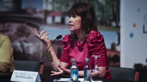 Mabel Lozano participa en el primer Festival Cinema Mulleres