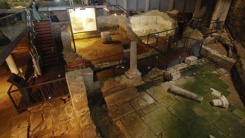 La domus del Mitreo es una de las joyas romanas que esconde Lugo
